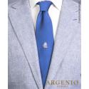Fregata Partenope in seta Bluette, Cravatta