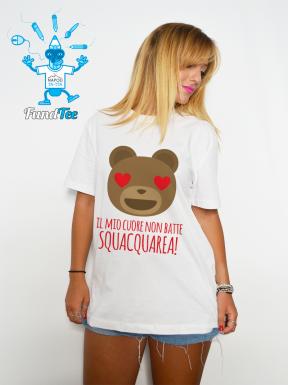 Il mio cuore non batte. Squacquarea! T-Shirt Unisex