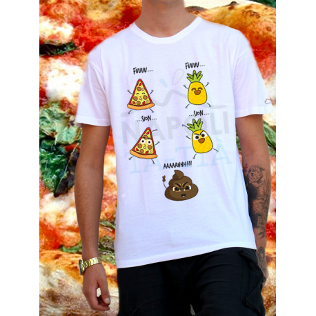 Pizza e Ananas is the Shhhhhhit, T-Shirt Unisex
