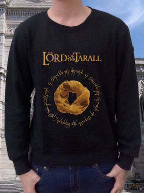 The Lord Of the Tarall, Felpa Girocollo