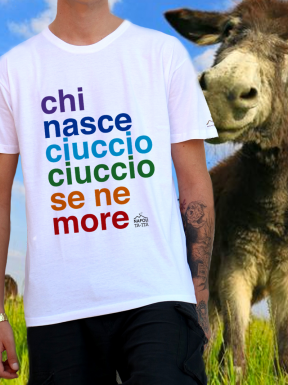 The Ciuccio Philosophy, T-Shirt Unisex