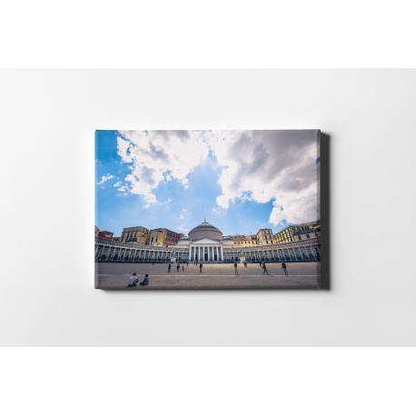 Panorama Napoli, Stampa su tela
