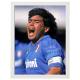 Maradona con autografo, Stampa