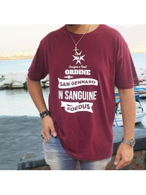 Insigne e Real Ordine di San Gennaro, T-Shirt Unisex