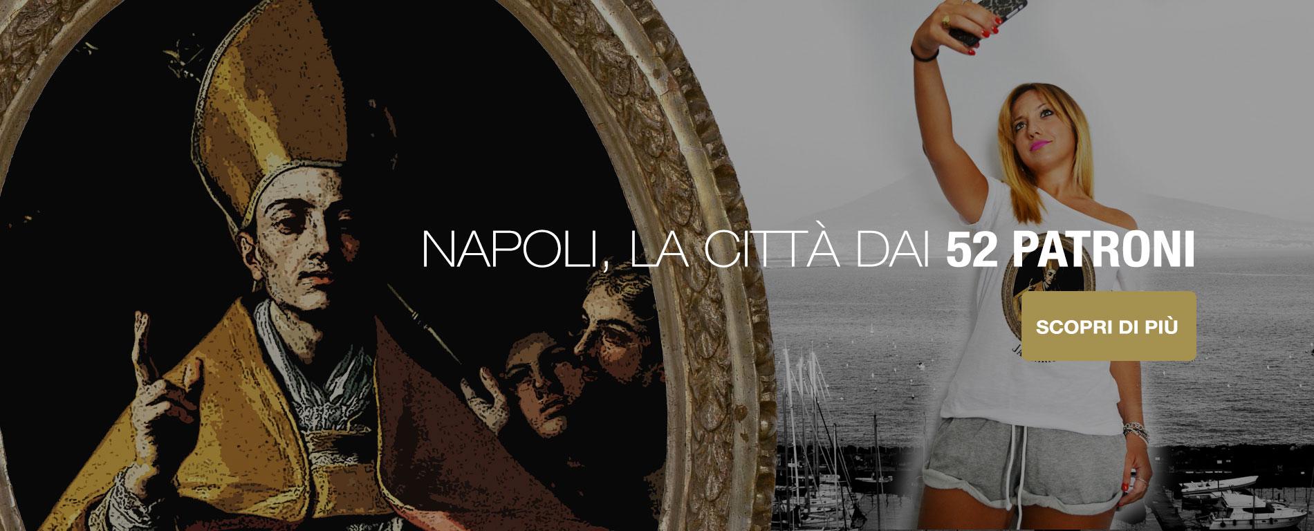 Scopri le T-Shirt dedicate ai Santi Patroni di Napoli
