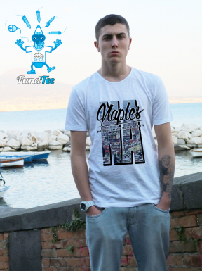 Naples, Proudly made in the South, T-Shirt Unisex
