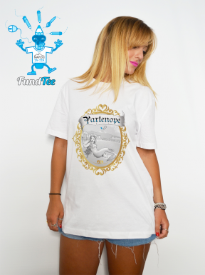Il Selfie di Partenope, T-Shirt Unisex