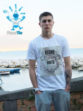 Due Sicilie uniti dal 1816, T-Shirt Unisex