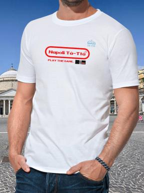 Napoli Tà-Ttà Play the Game, T-Shirt Unisex