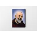Padre Pio, Stampa su tela