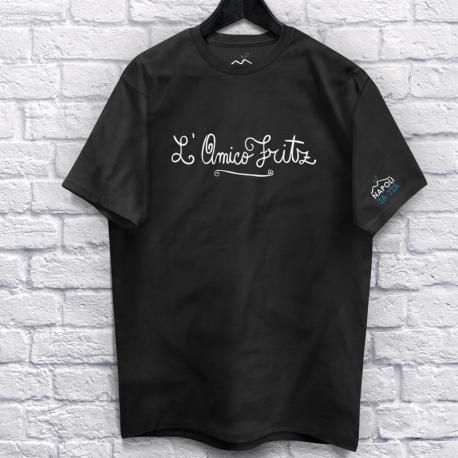 L'Amico Fritz, T-Shirt Nera Unisex
