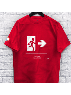 T-Shirt of Health - Exit Mad