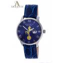 Orologio Cavallo Napoli – Quadrante blu e cinturino in pelle blu
