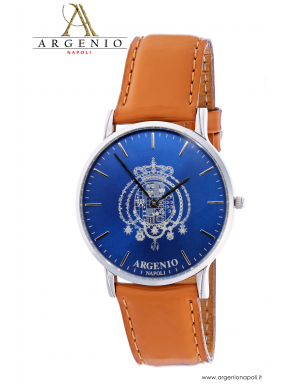 Orologio NewSlim – Quadrante blu e Cnturino in pelle blu