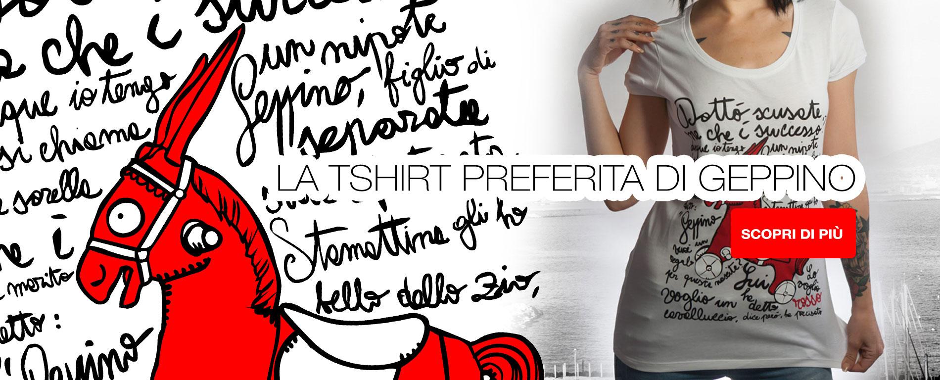 Compra la T-Shirt preferita dall'Ing. De Crescenzo